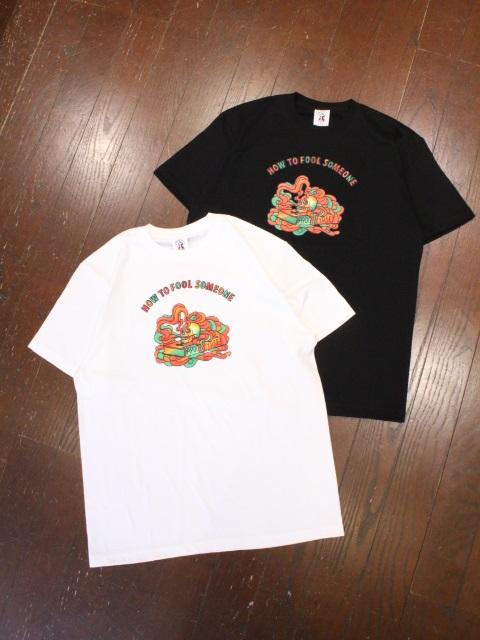 SOFTMACHINE  「FOOL - T」 プリントティーシャツ