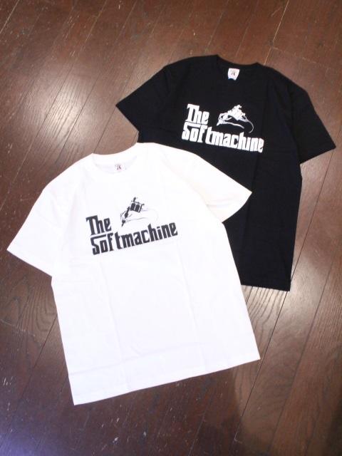 SOFTMACHINE  「GOD - T」 プリントティーシャツ