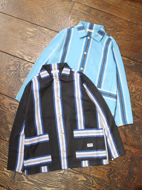 RADIALL  「AZTEC - REGULAR COLLARED SHIRT L/S」  メキシカンジャガードシャツ