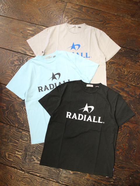 RADIALL    「LOGOTYPE - CREW NECK T-SHIRT S/S」 プリントティーシャツ