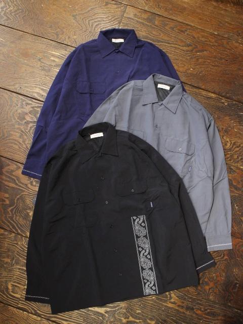 RADIALL  「WEST COAST - REGULAR COLLARED SHIRT L/S」  レギュラーカラーワークシャツ