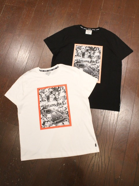 CAPTAINS HELM   「 #COLLAGE CULTURE TEE  」  プリントティーシャツ