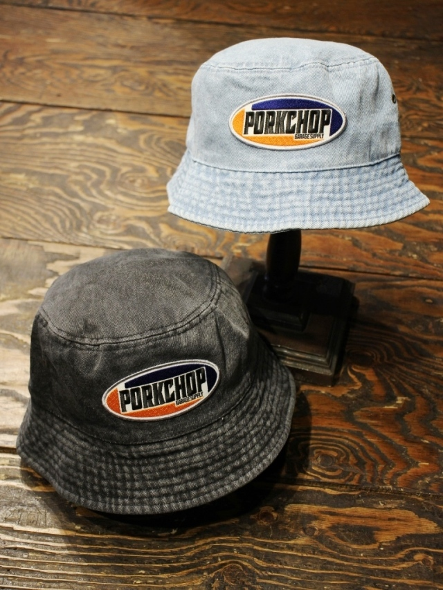 PORKCHOP GARAGE SUPPLY   「2nd Oval BUCKET HAT」  バケットハット