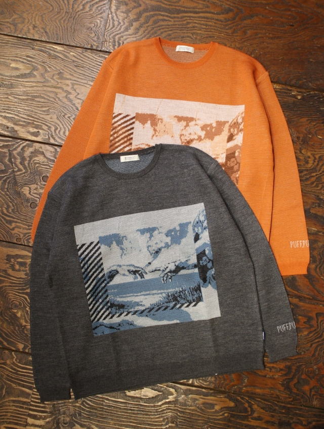 RADIALL  「HEAVEN'S DOOR - CREW NECK SWEATER L/S」  クルーネックニットセーター