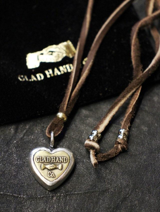 GLAD HAND   「BUTTON CHARM SMALL」  SILVER 925 & BRASS製 ネックレス