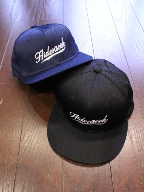 HIDEANDSEEK 「Mesh Baseball CAP」 メッシュベースボールキャップ