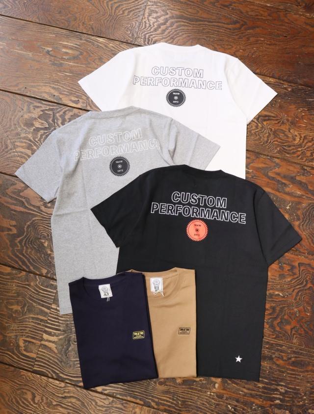 【 6月12日発売!】 M&M CUSTOM PERFORMANCE  「 PRINT S/S T-SHIRT 」 プリントティーシャツ