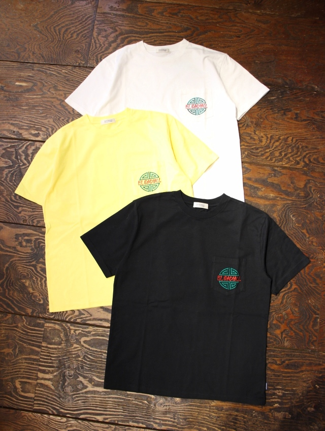RADIALL    「KUNG FU - CREW NECK POCKET T-SHIRT S/S」 ポケットティーシャツ