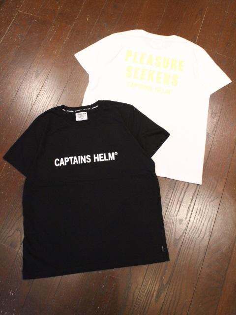 CAPTAINS HELM   「 #GLOW-IN-THE-DARK TEE  」  プリントティーシャツ