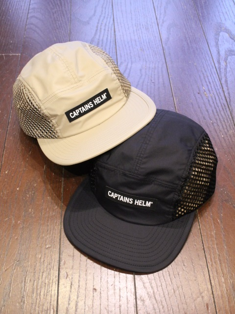 CAPTAINS HELM   「 #SIDE MESH OUTDOOR CAP 」  ジェットキャップ