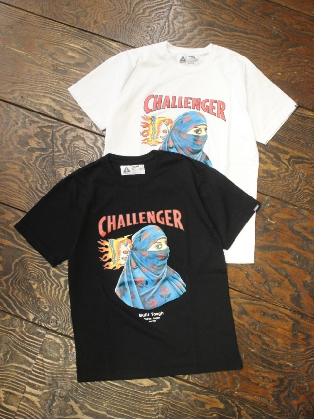CHALLENGER    「 EARTH TEE 」 プリントティーシャツ