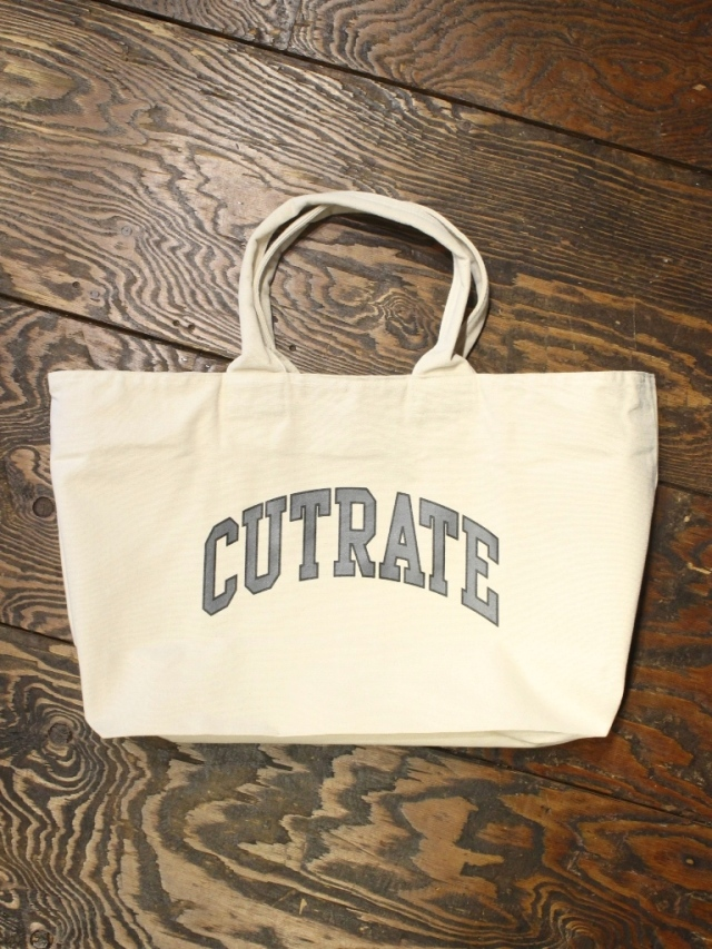 CUT RATE   「NEWS PAPER TOTE BAG 2ND」 キャンバストートバッグ