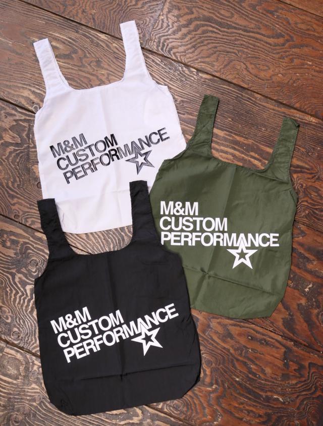 【 4月6日発売!】 M&M CUSTOM PERFORMANCE  「ECO BAG」 エコトートバッグ