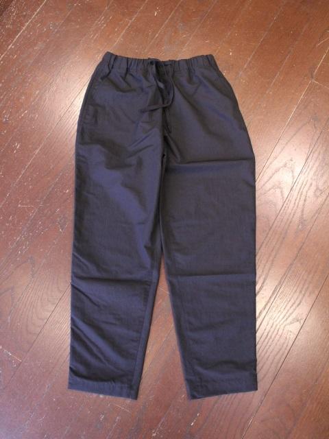 HIDEANDSEEK  「Cotton Linen Track Pant」  トラックパンツ