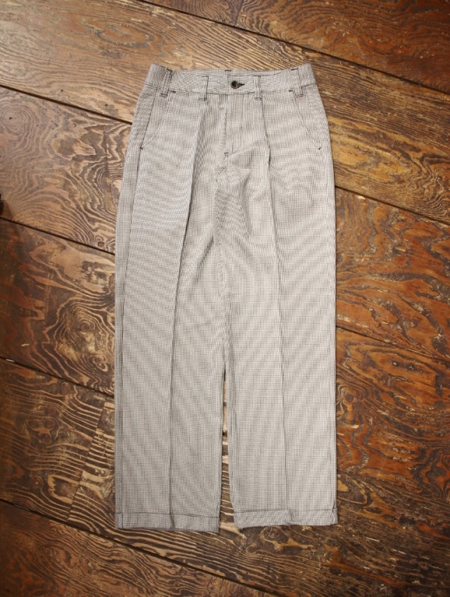 CUT RATE   「HOUNDSTOOTH PATTERN SLACKS」 スラックス