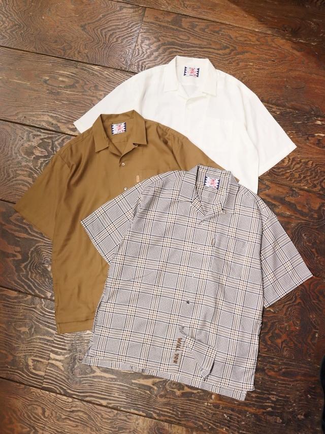 SON OF THE CHEESE  「 3/4 Length Shirt 」 オープンカラーシャツ