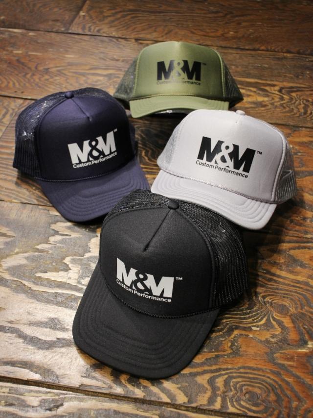 【 2月6日発売!】 M&M CUSTOM PERFORMANCE   「PRINT MESH CAP」 メッシュキャップ