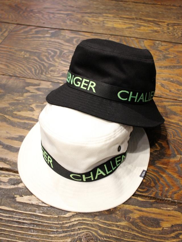 CHALLENGER   「ORIGINAL JACQUARD TAPE HAT」 バケットハット