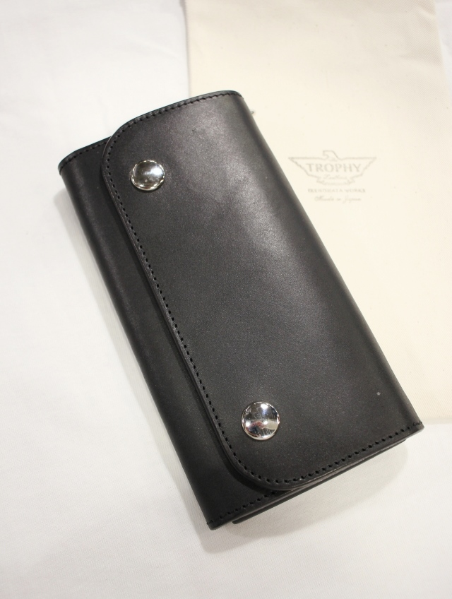 TROPHY CLOTHING    「Saddle Buddy Wallet」  レザーウォレット