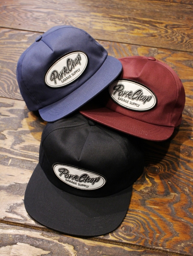 PORKCHOP GARAGE SUPPLY   「SCRIPT TRUCKER CAP」  トラッカーキャップ