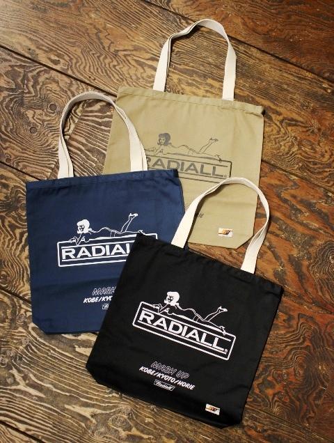 RADIALL × MASH UP 「MASH UP ANN. - TOTE BAG」  トートバッグ