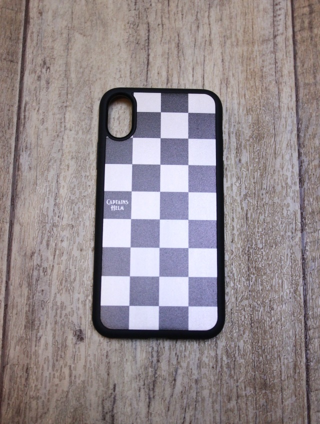 CAPTAINS HELM 「iPhone CASE -Checker X/XS」 iPhone X/XSケース