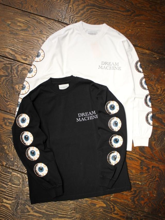 Black Weirdos  「Eye Ball L/S Tee 」 ロングスリーブティーシャツ