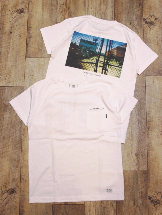 CRIMIE   「PHOTO POCKET T-SHIRT」 ポケットティーシャツ