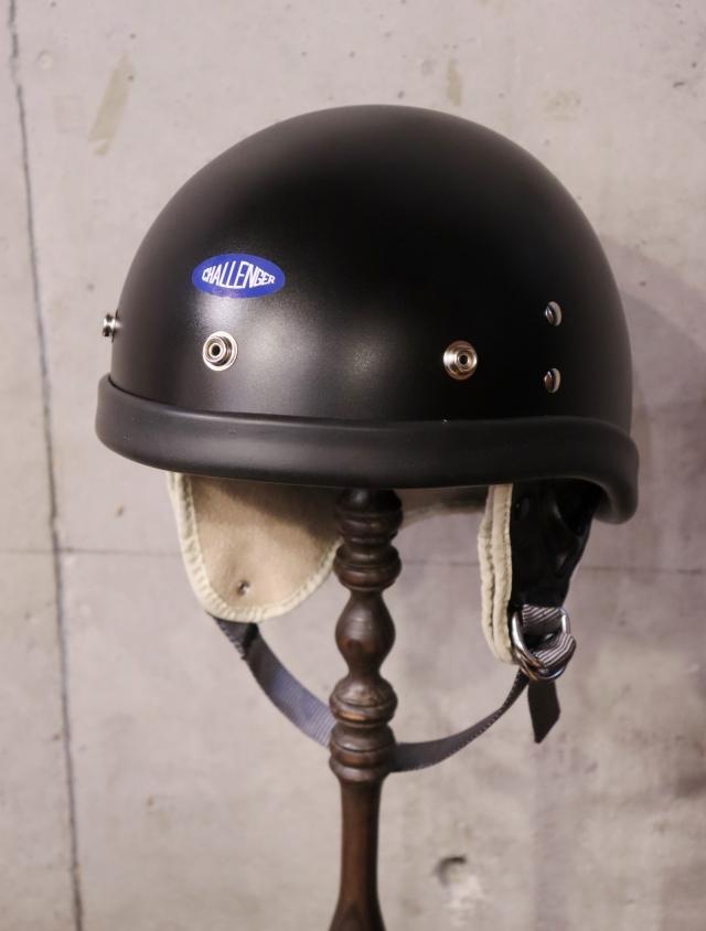 CHALLENGER  「CHALLENGER LAWS HELMET」  ヘルメット 〈BLACK〉