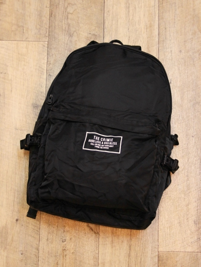 CRIMIE     「PACKABLE DAY BAG」   パッカブルバックパック