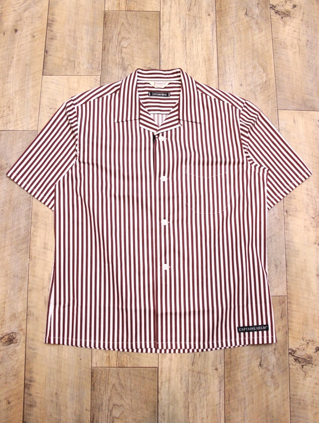 CAPTAINS HELM   「TOWN CRAFT × CHT #STRIPE O/C SHIRTS」   ストライプシャツ