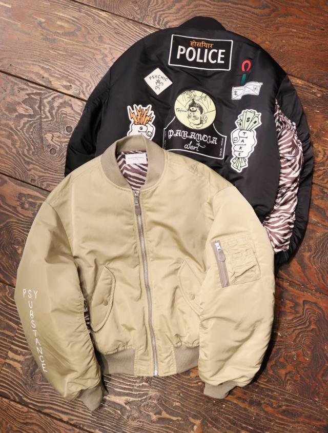 Black Weirdos  「 MA-1 Flight Jacket 」 リバーシブル MA-1 ジャケット