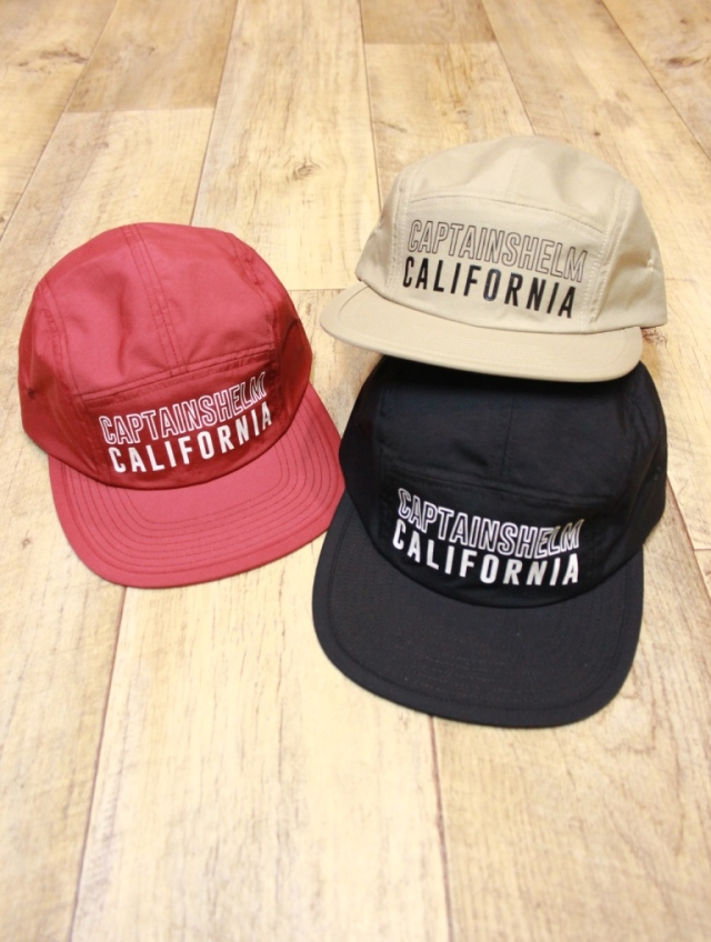 CAPTAINS HELM 「#CH/CA WATER-PROOF JET CAP」 ジェットキャップ