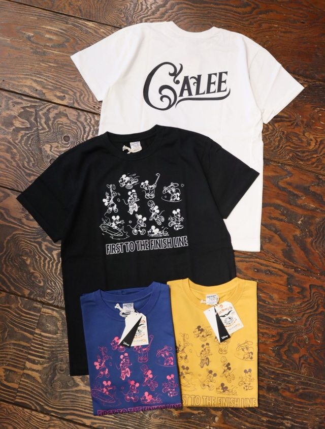 CALEE × DISNEY 「MULTI PLAYER T-SHIRT 」    プリントティーシャツ