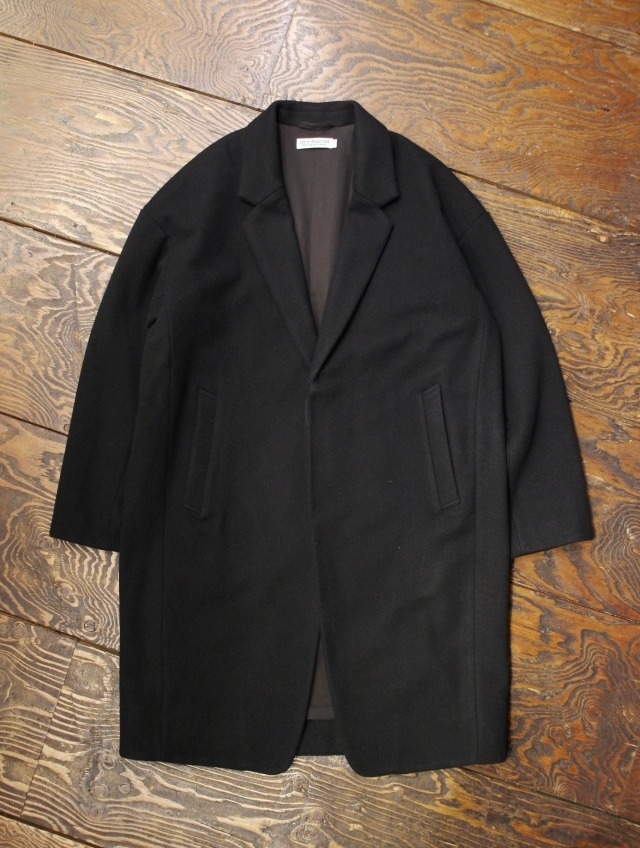 COOTIE  「Wool Mossa Chester Coat (Long)」 ウールモッサ チェスターコート