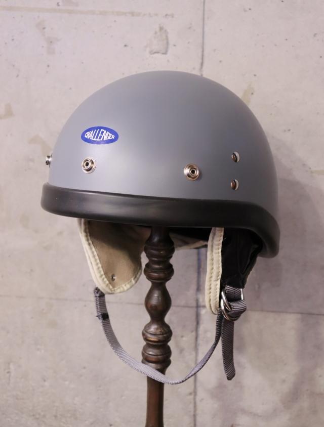 CHALLENGER  「CHALLENGER LAWS HELMET」  ヘルメット 〈GRAY〉