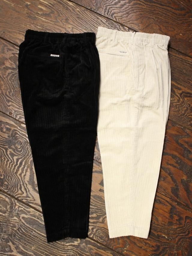 COOTIE  「 Random Corduroy 1 Tuck Easy Pants 」 コーデュロイイージーパンツ