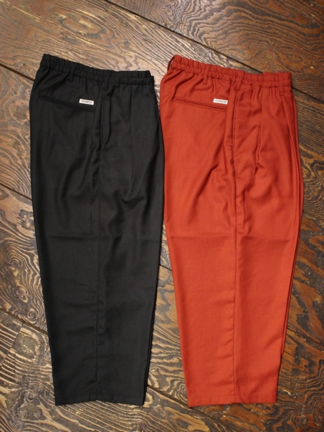 COOTIE  「 T/W 2 Tuck Easy Pants 」 2タックイージーパンツ