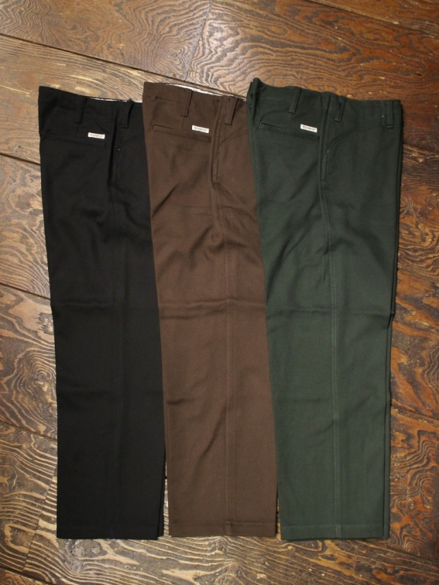 COOTIE  「 Cotton Kersey Work Trousers 」 トラウザーパンツ