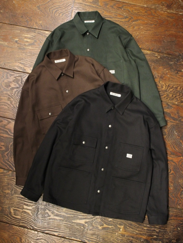 COOTIE  「Cotton Kersey Short Coverall」 ショートカバーオール