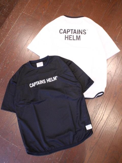 CAPTAINS HELM   「 #TM-LOGO DOUBLE MESH FBT 」  メッシュティーシャツ