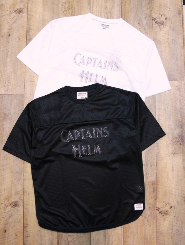 CAPTAINS HELM   「# DOUBLE MESH FOOTBALL TEE」 フットボールティーシャツ