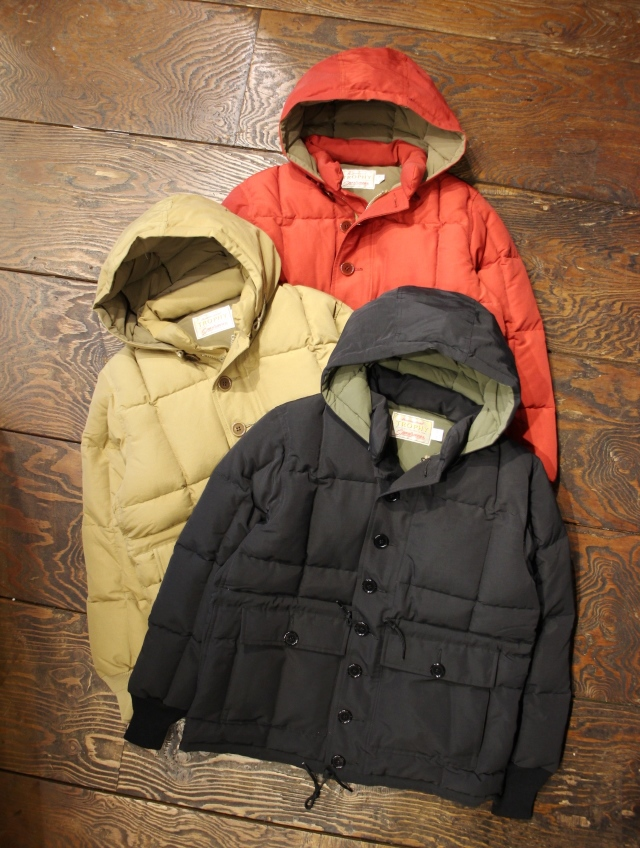 TROPHY CLOTHING  「Alpine Down Jacket」  ダウンジャケット