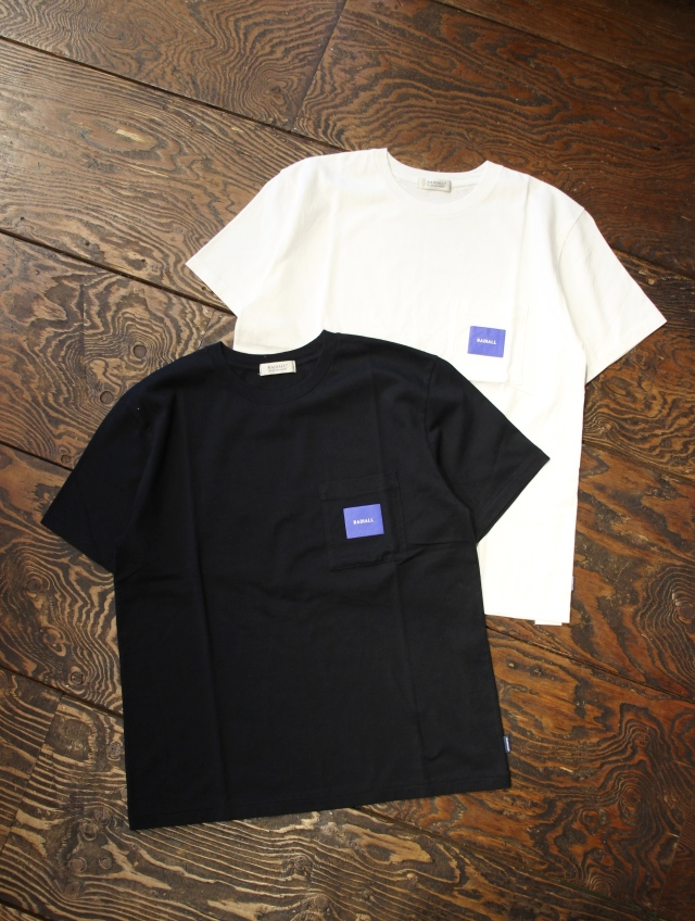 RADIALL    「SQUARE - CREW NECK POCKET T-SHIRT S/S」 ポケットティーシャツ