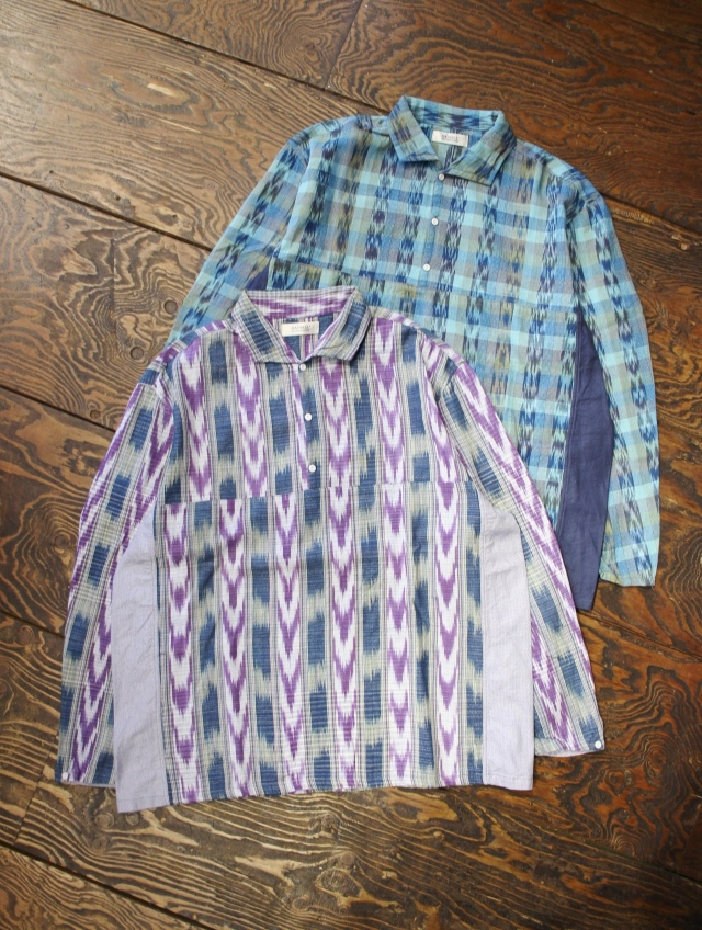RADIALL  「EL CAMINO - REGULAR COLLARED SHIRT L/S」  レギュラーカラープルオーバーシャツ