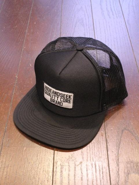 HIDEANDSEEK 「Mesh CAP(21ss)」 メッシュキャップ