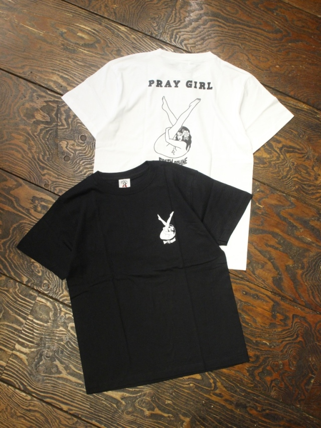 SOFTMACHINE  「PRAY GIRL - T」 プリントティーシャツ