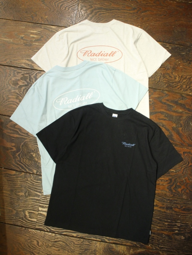 RADIALL    「OVAL - CREW NECK T-SHIRT S/S」 プリントティーシャツ
