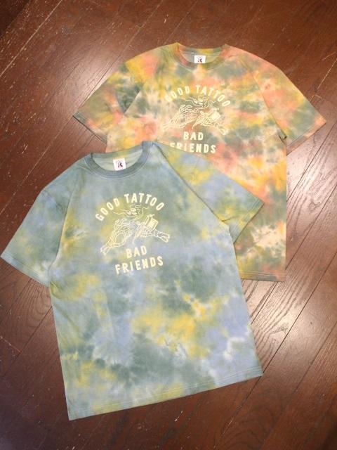SOFTMACHINE  「BAD FRIENDS - T」 タイダイ染めティーシャツ