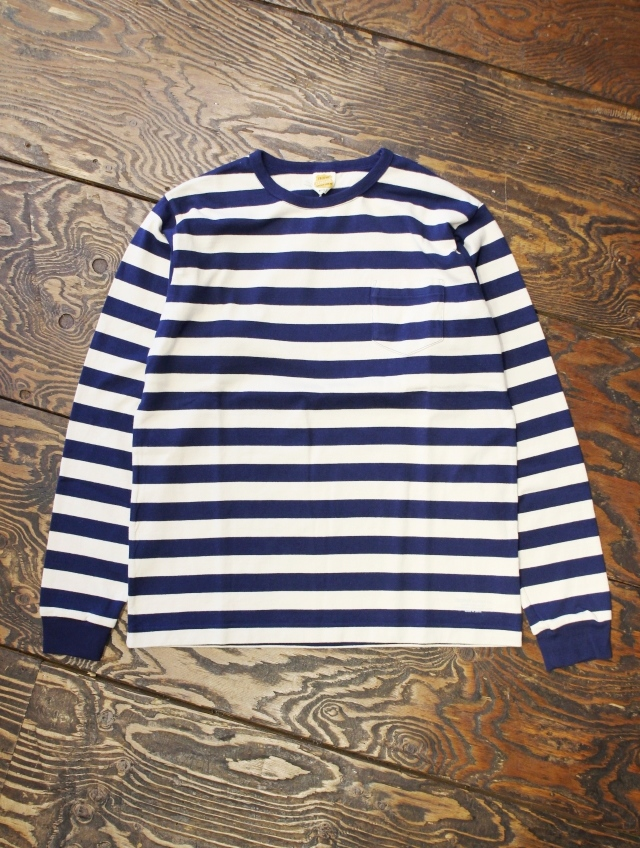 TROPHY CLOTHING  「Mid Border L/S Tee」 ボーダーロンティー